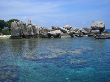 Nangyuan Island - Insel Koh Nangyuan / Koh Nang Yuan
