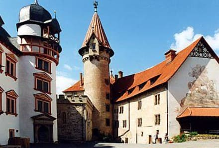 Im Burghof - Veste Heldburg