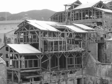 Die Geisterstadt Argentiera - Verlassene Mine von Argentiera