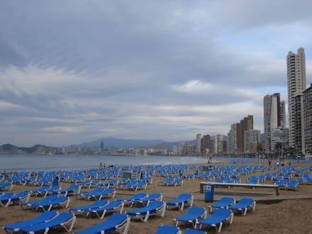 Strand im Oktober - Playa de Levante