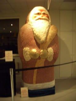 Riesiger Weihnachtsmann - Rausch SchokoLand