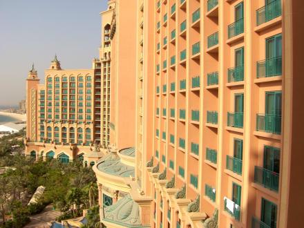 Zimmerausblick - Hotel Atlantis The Palm