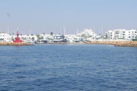 Der hafen von Port el Kantaoui - Yachthafen Port el Kantaoui