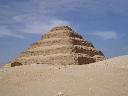 Stufenpyramide von Sakkara - Stufenpyramide / Pyramide von Djoser