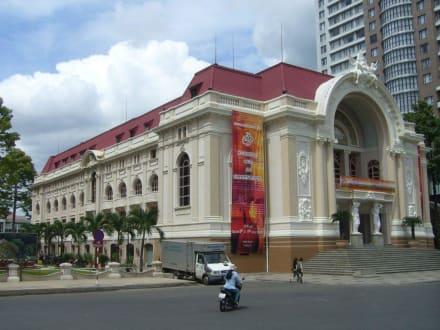 Opernhaus Saigons - Opernhaus in Saigon