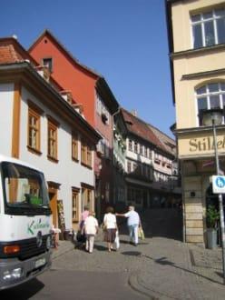 Die Krämerbrücke in Erfurt - Altstadt Erfurt