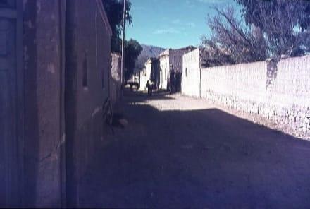 Straße in Uquia - Uquia