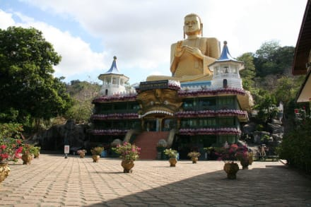 Religious sites (churches, temples, etc.) - Dambulla Cave Temple