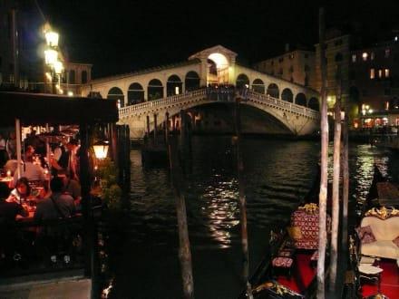 Landgang in Venedig - Rialtobrücke
