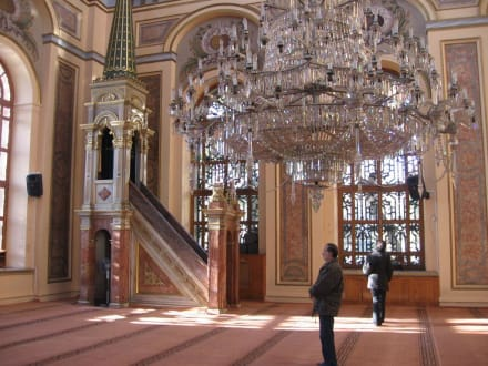 Moschee Innen - Dolmabahce Palast
