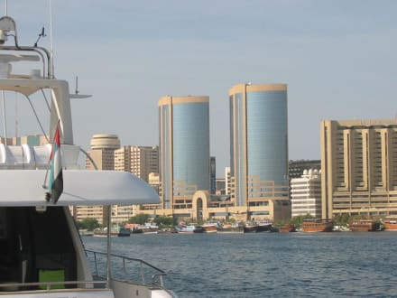 Die Twin-Towers von Dubai - Dubai Creek