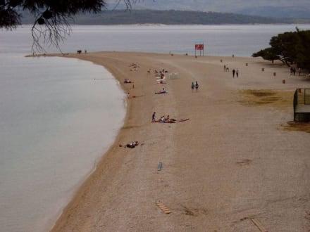Strand von Bol - Goldenes Horn
