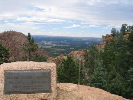 Aussicht auf Colorado Springs - Seven Falls