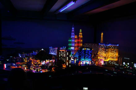 Las Vegas bei Nacht - Miniatur Wunderland Hamburg