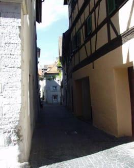 Die engen Gassen der Niederburg - Niederburg