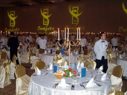 Vor dem Essen - HolidayCheck Award Gala