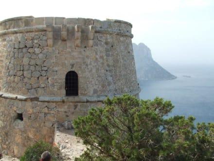 Aufstieg geschafft! Vor dem Torre del Pirata. - Torre del Pirata / Torre de Savinar