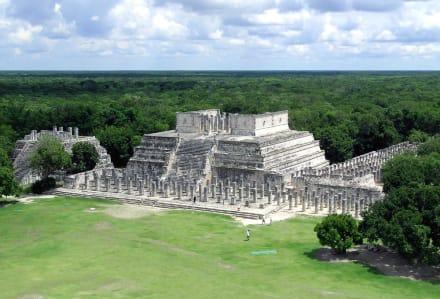 Kriegertempel - Ruine Chichén Itzá