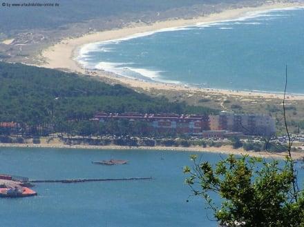 Strand bei Vianna - Bucht von Viana do Castelo