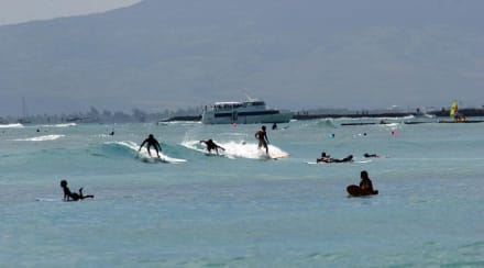 Waikiki Beach - Strand Waikiki Beach