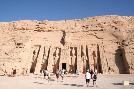 Abu Simbel, Tempel der Hathor - Tempel von Abu Simbel