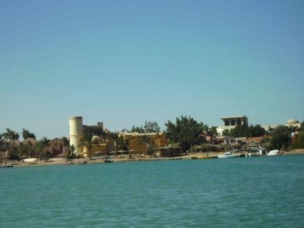 Vom Meer gesehen - Ausflug nach El Gouna