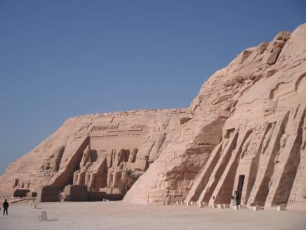 Ausflug nach Abu Simbel - Tempel von Abu Simbel