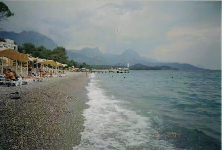 Strand bei Sturm - Strand Kemer