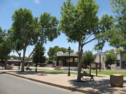 Plaza der historischen Stadt Mesilla, NM - Mesilla