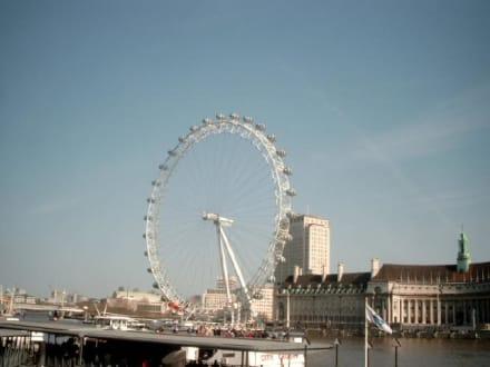 Riesenrad in London - London Eye