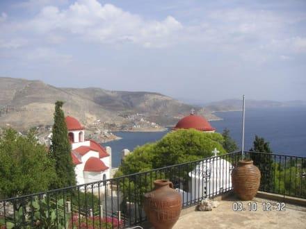 Aussicht vom Kloster  - Insel Kalymnos