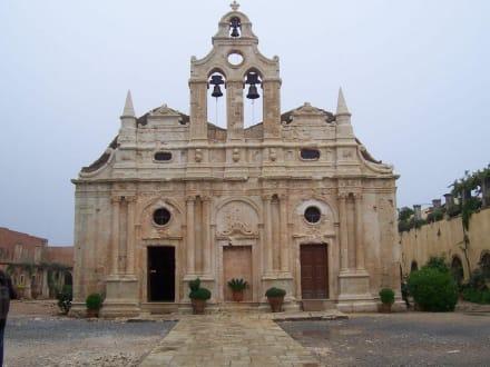 im Inneren des Klosters - Kloster Moni Arkadi
