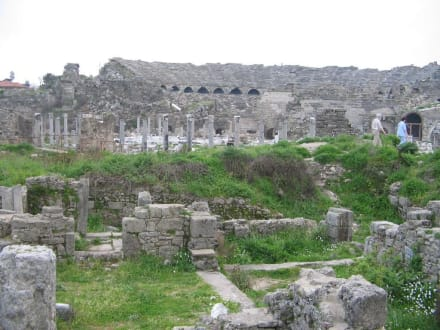 Side (Antike Stadt) - Amphitheater in Side