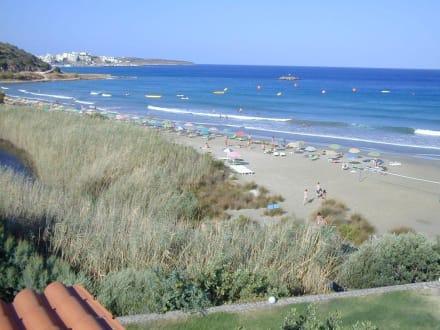 Der Strand / der Bach / die Stadt - Strand Agios Nikolaos