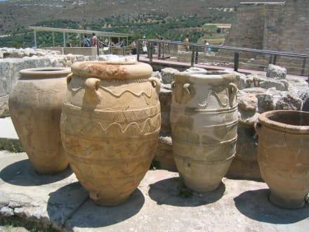 Bild aus der Ausgrabungsstätte Knossos - Knossos