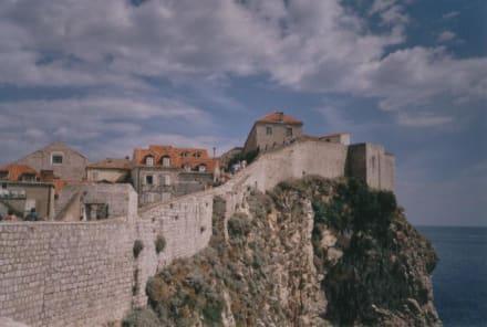 Ein wunderschöner Blick von der Mauer - Stadtmauer