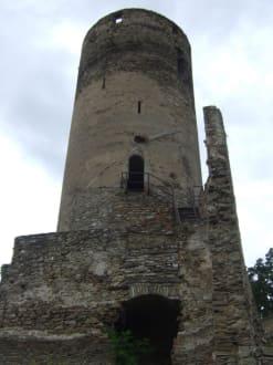 Turm mit toller Aussicht - Burgruine Kollmitz Raabs