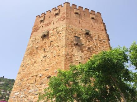 Der Rote Turm in Alanya - Roter Turm - Kizil Kule