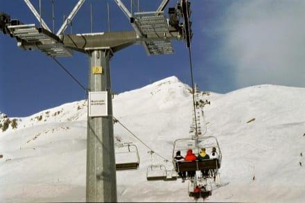 Sitzen bleiben! - Skigebiet Ischgl