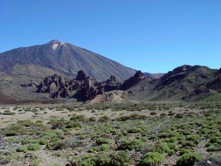 Vulkan Landschaft El Teide - Teide Nationalpark