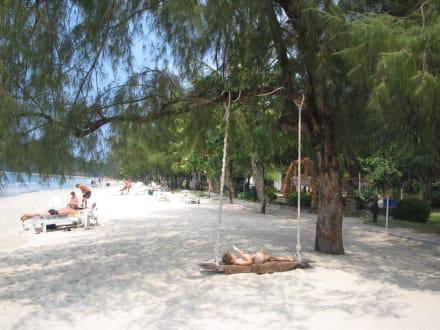 Freiluftbett am Strand! - Klong Phrao Beach