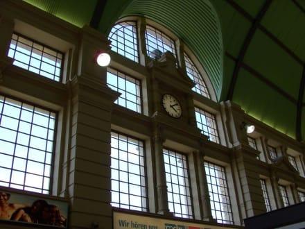 Teilansicht, innen - Halle (Saale) Hauptbahnhof