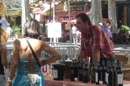 Wein zum Probieren - Weinmarkt