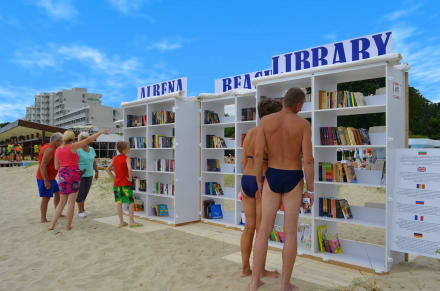 At the Beach Library -