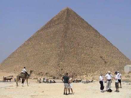 Pyramide - Pyramiden von Gizeh