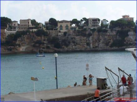 Blick in die Hafenbucht - Yachthafen Porto Cristo