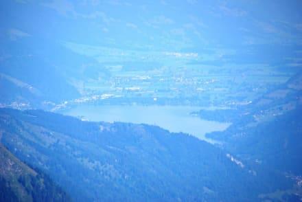 Zell am See vom Großglockner - Zeller See
