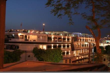 Blick auf das Schiff - MS Nile Style