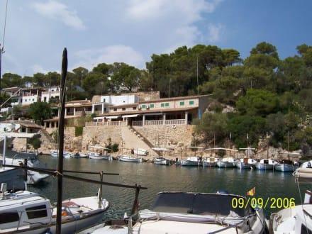 Hafenstadt Cala Figuera - Glasbodenboot Tour Starfish Porto Colom