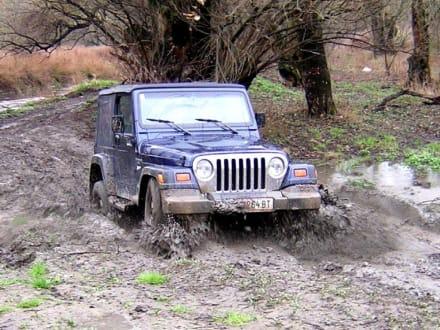 Schlammpackung fürs Auto - Jeep Safari Klein-Pöchlarn